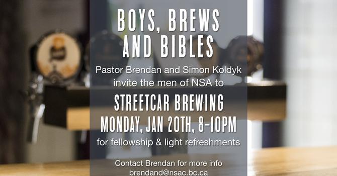 Boys, Brews, and Bibles