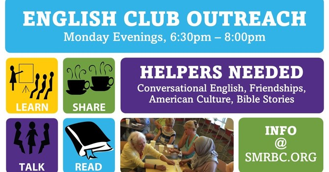 Volunteer with the English Club image