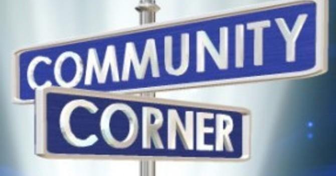 Community Corner for October 24