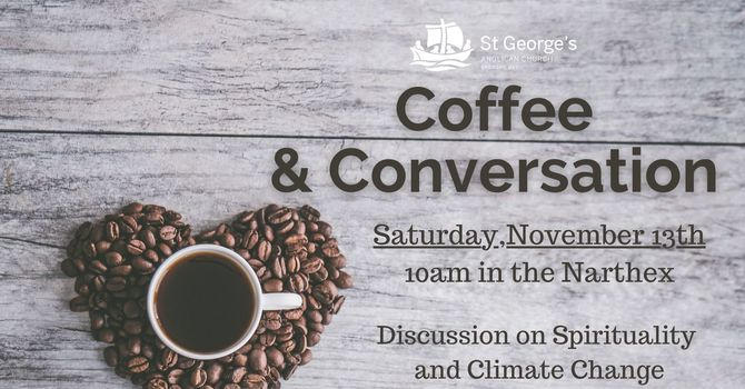 Coffee and Conversation - In Person