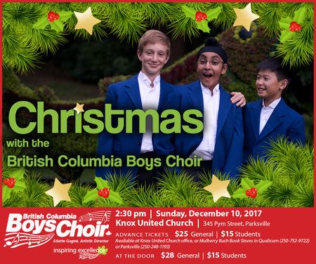 Christmas With The British Columbia Boys Choir (S)