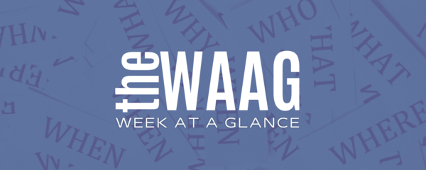 Welcome to the WAAG!