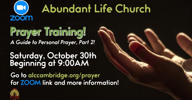 Prayer Training!