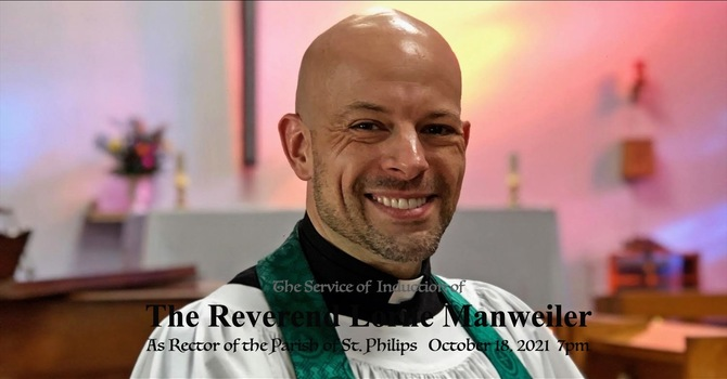 The Induction of Rev. Lorne Manweiler
