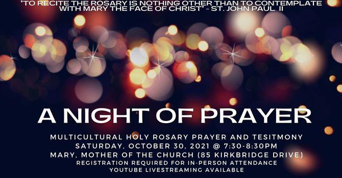 A Night of Prayer  image