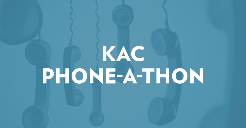KAC Phone-a-thon