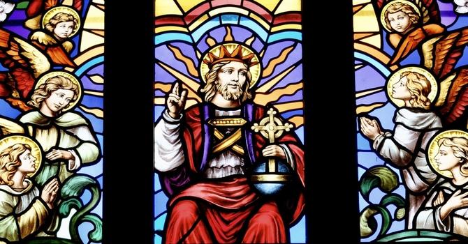24 October 2021 Holy Eucharist 22nd Sunday After Pentecost image