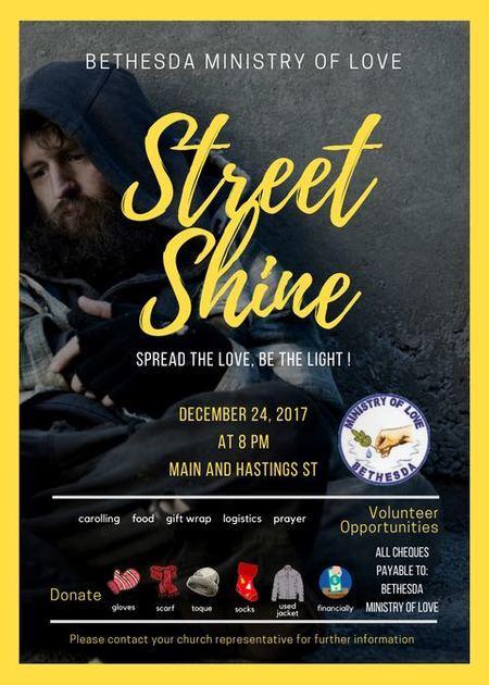 Street Shine  w/ Bethesda Ministry of Love