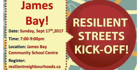 Resilient Streets Kick- Off!
