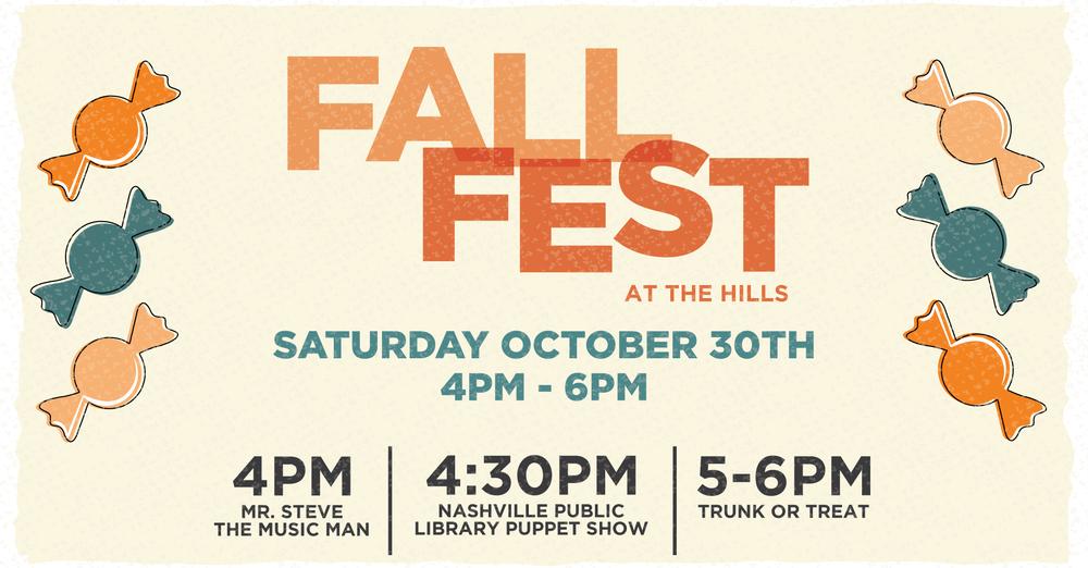 Fall Festival + Trunk or Treat