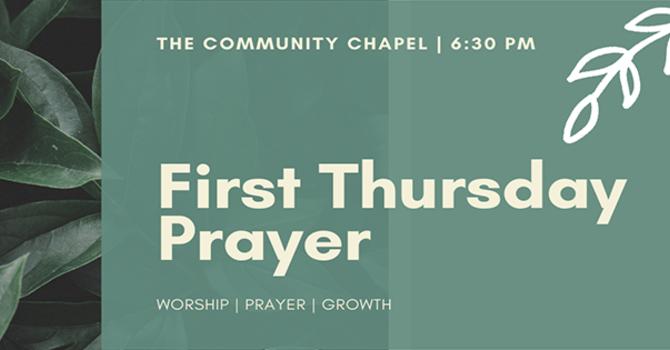 First Thursday Prayer