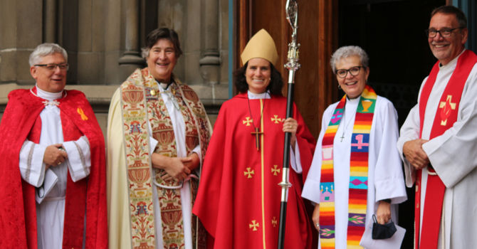 Welcome new canons and archdeacons! image