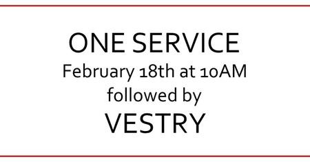 One Service February 18