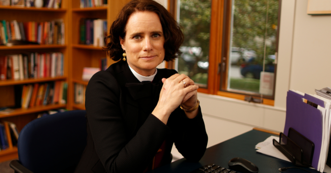 Bishop Anna sets out six diocesan priorities image