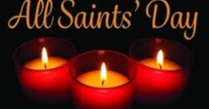 News Update and Service sheet for Sunday October 31st All Saints' Sunday image