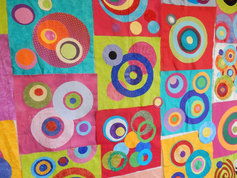 Circles of grace quilting