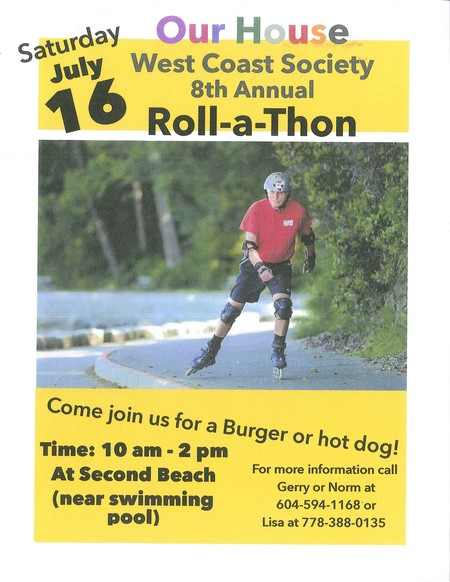 Our House Roll-a-Thon