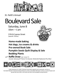 Boulevard sale poster 2013