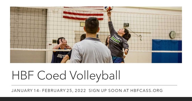 Coed Volleyball Registration Coming Soon!
