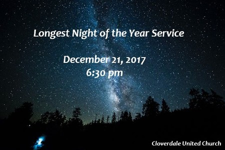 Longest Night of the Year Service
