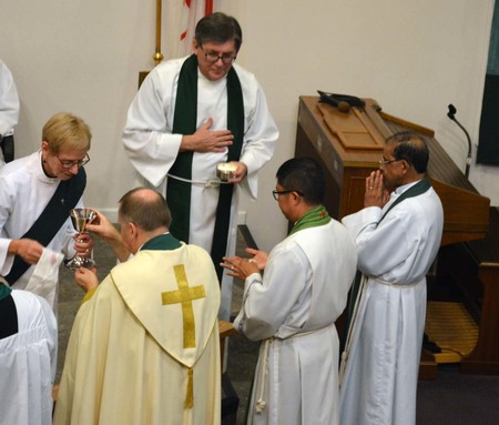 Celebration of a New Ministry in Cloverdale