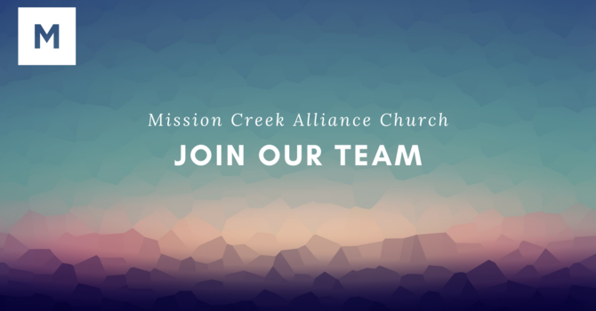 Join Our Team - Worship Ministry Pastor/Director image