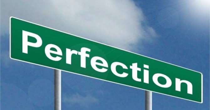 Our story is the story of God putting perfection in us