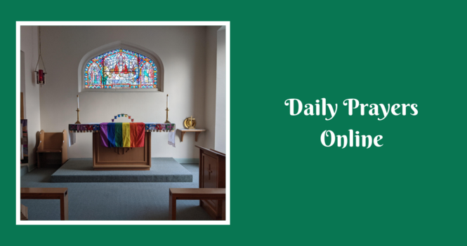 Daily Prayers for Wednesday, October 27, 2021