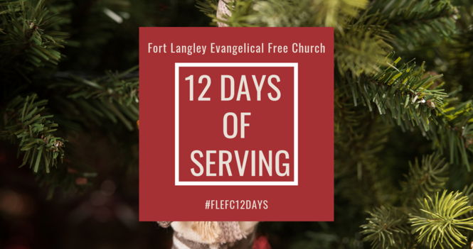 12 Days of Serving: The 12th Day