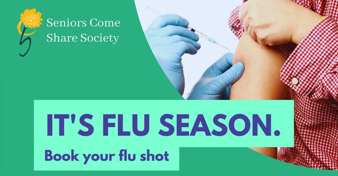 It's Flu Season. Book Your Flu Shot