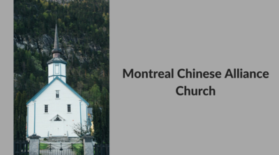 Montreal Chinese Alliance Church