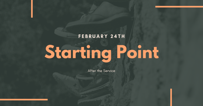 Starting Point - Welcome Orientation