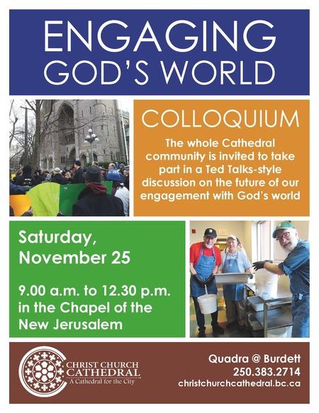 Engaging God's World Colloquium