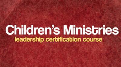 Children's Min Certification Ministry