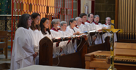 Sung Mattins with the St Christopher Singers