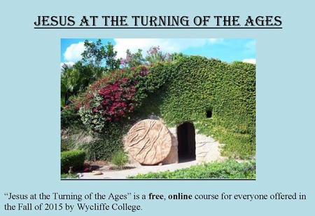 Free Online Course by Wycliffe College