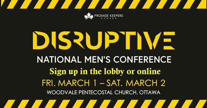 Disruptive Men's Promise Keeper's Conference