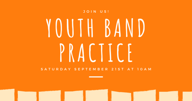 Youth Band Practice