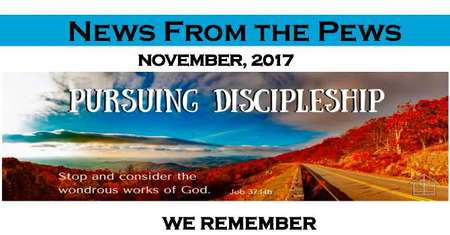 News from the Pews - November