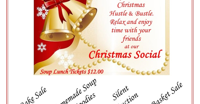 Annual Christmas Social and Silent Auction
