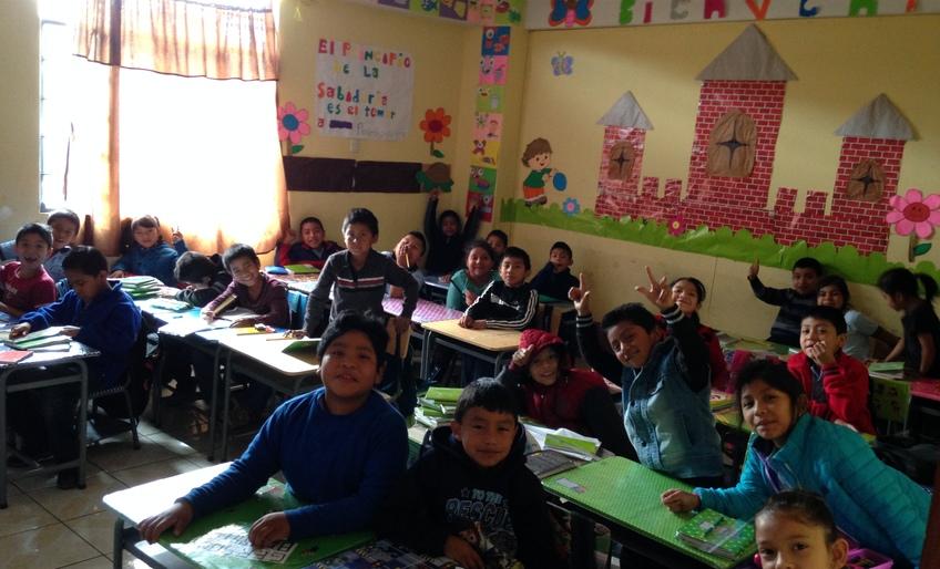 Jesus Viene School - January 2018 Update