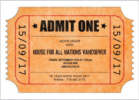 Movie Night with HFAN Vancouver Campus