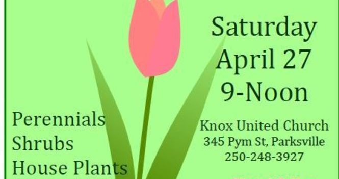 Knox Plant and Bake Sale- (N,Rm 1/2)