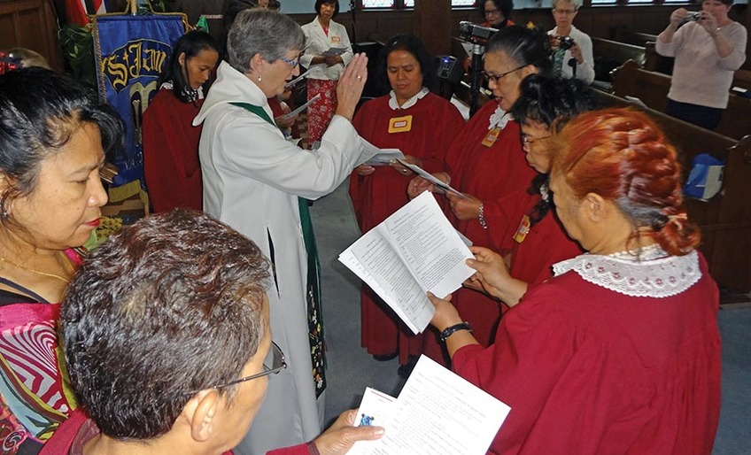 New Branch of Mothers' Union is Enrolled