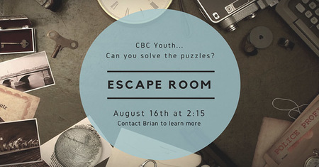 Youth Escape Room