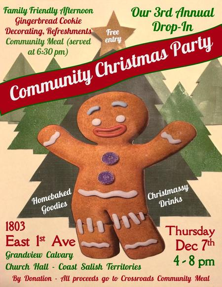 3rd Annual Grandview Community Christmas Party
