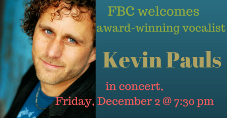 Kevin Pauls in Concert