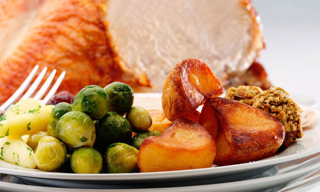 Christmas Dinner at First
