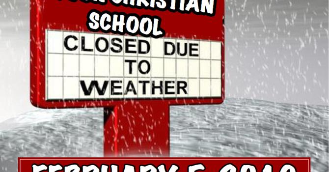 DEVON CHRISTIAN SCHOOL CLOSED ON FEBRUARY 5, 2019 image