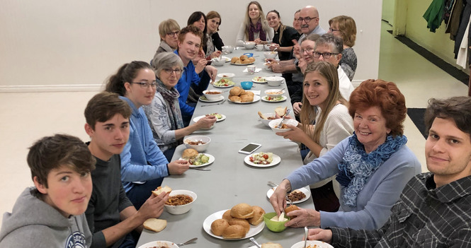 Breaking Bread Together on Campus